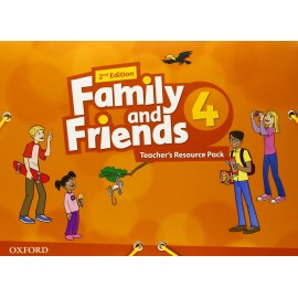 Family and Friends 4 Second Edition Teacher's Resource Pack