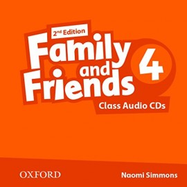 Family and Friends 4 Second Edition Class Audio CDs