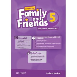 Family and Friends 5 Second Edition Teacher's Book + DVD + MultiROM