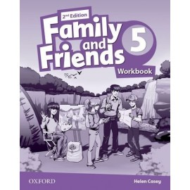 Family and Friends 5 Second Edition Workbook