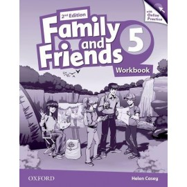 Family and Friends 5 Second Edition Workbook with Online Skills Practice