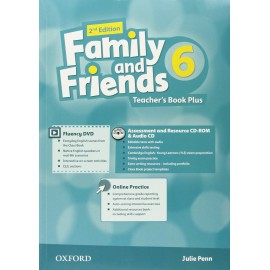 Family and Friends 6 Second Edition Teacher's Book + DVD + MultiROM