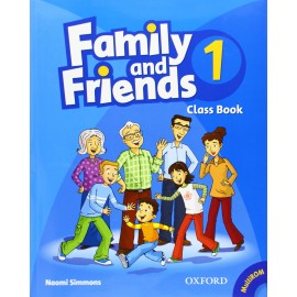 Family and Friends 1 Class Book + MultiROM