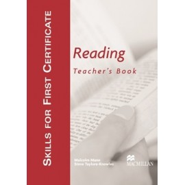 Skills for First Certificate Reading Teacher's Book