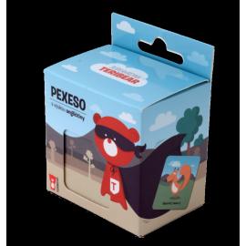 Pexeso s výukou angličtiny - Superhrdina Teribear