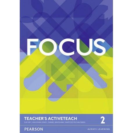 Maturita Focus 2 Pre-Intermediate Active Teach (Interactive Whiteboard Software) Pearson 9781447997924