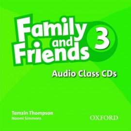 Family and Friends 3 Class CDs