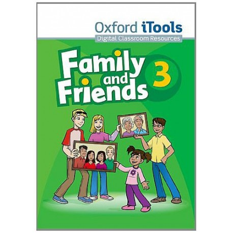 Family and Friends 3 iTools CD-ROM Oxford University Press 9780194812375