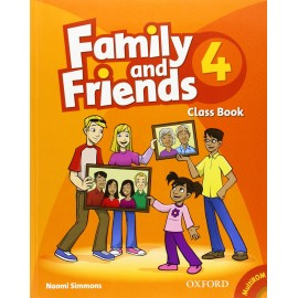 Family and Friends 4 Class Book + MultiROM