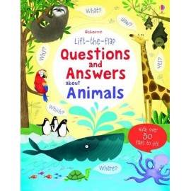 Questions & Answers about Animals Lift the Flap board book