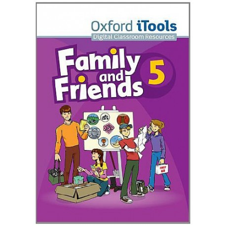 Family and Friends 5 iTools CD-ROM Oxford University Press 9780194812399