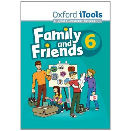 Family and Friends 6 iTools CD-ROM Oxford University Press 9780194812405