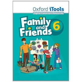 Family and Friends 6 iTools CD-ROM