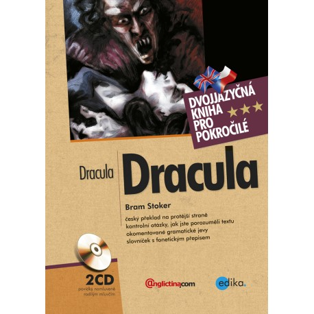 Dracula / Dracula + Audio CD Edika 9788026600565