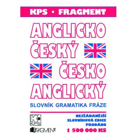 Anglicko-český, Česko-anglický kapesní slovník FRAGMENT 9788025304136