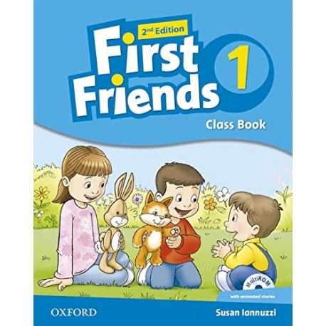 First Friends 1 Second Edition Class Book + MultiROM Oxford University Press 9780194432368