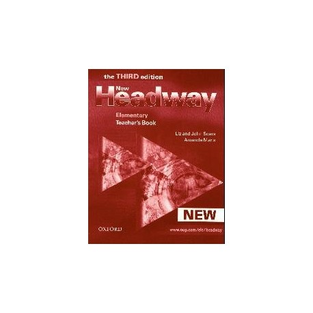 New Headway Elementary Third Edition Teacher's Book Oxford University Press 9780194715126