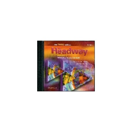 New Headway Elementary Third Edition Interactive Practice CD-ROM Oxford University Press 9780194715157