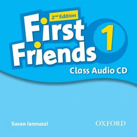 First Friends 1 Second Edition Class Audio CD Oxford University Press 9780194432429