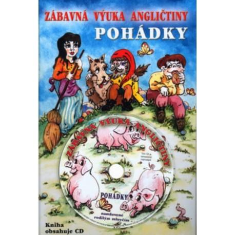 Zábavná výuka angličtiny - Pohádky + CD Klaris s.r.o. 9788023915556