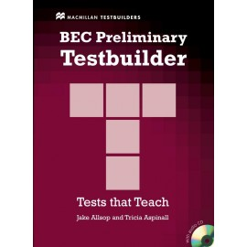 BEC Preliminary Testbuilder (with Key + CD)