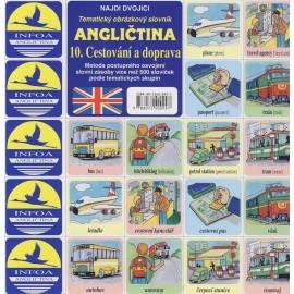 Angličtina-pexeso 10. Cestování a doprava