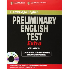 Cambridge Exams Extra PET Student's Book with answers and CD-ROM