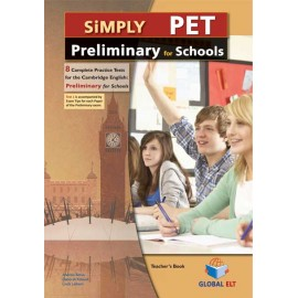 Simply Cambridge English Preliminary for Schools 8 Practice Tests Self-Study Edition