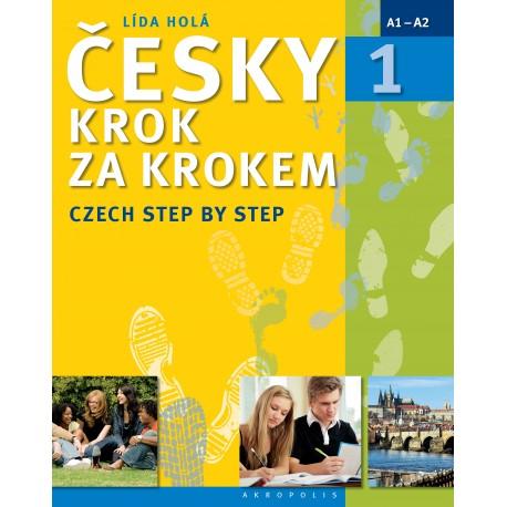 Česky krok za krokem 1 + CDs Akropolis 9788074701290