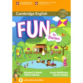 Fun for Starters Third Edition Student's Book + Audio download