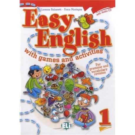 Easy English with Games and Activities 1 + CD ELI 9788853604385