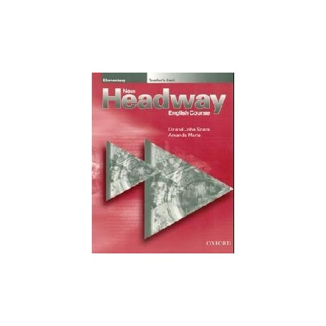 New Headway Elementary Teacher's Book Oxford University Press 9780194366656
