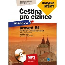 Čeština pro cizince učebnice a cvičebnice B1 + MP3 Audio CD