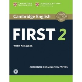 Cambridge English First 2 Authentic Examination Papers with Answers + Audio Download