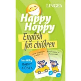 Happy Hoppy English for Children - Kartičky Barvy a Čísla