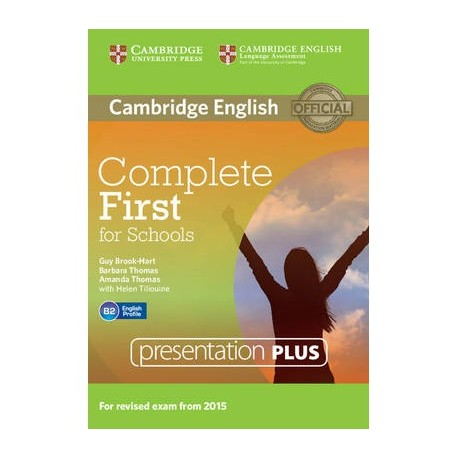 Complete First for Schools Presentation Plus DVD-ROM 9781107685291
