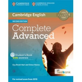 Complete Advanced Second Edition Student´s Book with answers with CD-ROM with Testbank