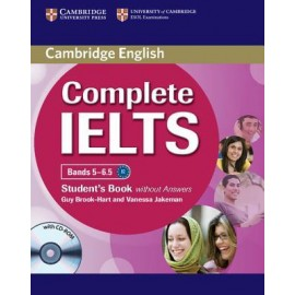 Complete IELTS Bands 5-6.5 Student´s Book without answers with CD-ROM