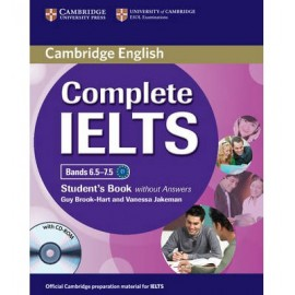 Complete IELTS Bands 6.5-7.5 Student´s Book without answers with CD-ROM