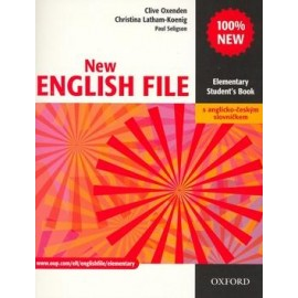 New English File Elementary Student's Book + CZ Wordlist