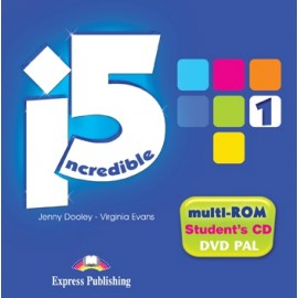 Incredible Five 1 Student's MultiROM (Student's Audio + DVD)