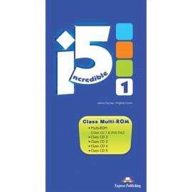 Incredible Five 1 Class MultiROM (Class Audio + DVD)