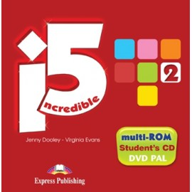 Incredible Five 2 Student's MultiROM (Student's Audio + DVD)