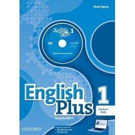 English Plus 1 Second Edition Teacher's Book with Teacher's Resource Disc and Practice Kit