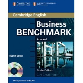 Business Benchmark First Edition Advanced Student´s Book with CD-ROM BULATS edition