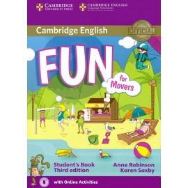 Fun for Movers Third Edition Student's Book + Audio download
