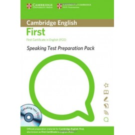 Speaking Test Preparation Pack for First