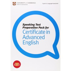 Speaking Test Preparation Pack for Certificate in Advanced English