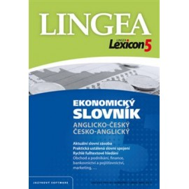Lingea: Lexicon 5 Ekonomický slovník CD-ROM