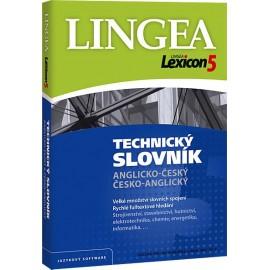 Lingea: Lexicon 5 Anglický technický slovník CD-ROM
